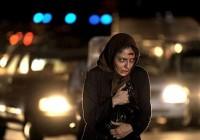 تصاویری از زخمی شدن مهناز افشار در خیابان در یک فیلم