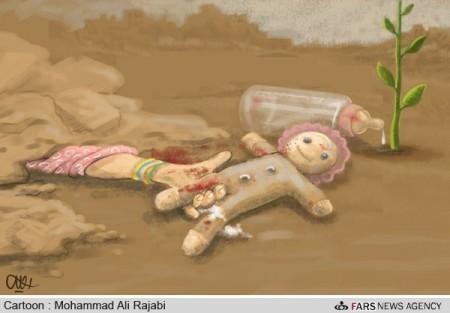 کاریکاتور هنرمندان برای همدردی با زلزلهزدگان آذربایجان شرقی