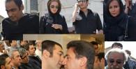 گزارش تصویری از مراسم ختم مادر مجید صالحی با حضور برخی هنرمندان و بازیگران