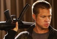 براد پیت بدون اسلحه احساس امنیت نمی کند!