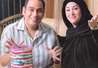 اولین مصاحبه و عکس رضا داوودنژاد و همسرش غزل