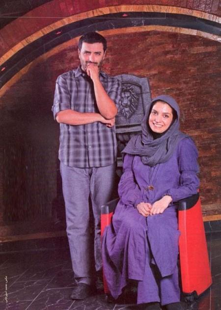 عکس ومصاحبه از سفر مشترک امین زندگانی و الیکا همسرش به شیراز