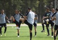 تصاویر تمرین تیم ملی فوتبال ایران