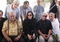 عکس یادگاری مهتاب کرامتی و ناصر ملک مطیعی