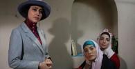 تلاش فرح برای ارتباط با بازیگران کلاه پهلوی باحواشی وعکس ها