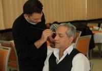 عکس مهران مدیری پشت صحنه سریال جدیدش