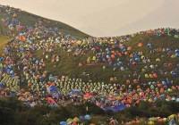 بزرگ ترین تجمع کمپرها در جهان (+عکس)