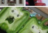 تصاویر صورتهای متفاوت زیبا با اشیا