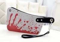 تصاویر کیف دستی با طرح ساطور خونی