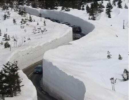 به این میگن برف ! باورت میشه!