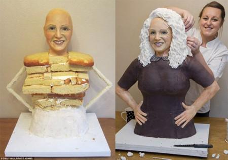 تصاویر کیک هایی که از شما زیباترند