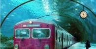 عکسی از مترو زیر آبی در ونیز