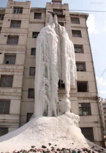 تصاویر نتیجه باز گذاشت شیر آب در سرما