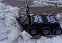 تصاویر روبات برف روب