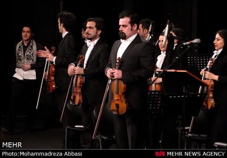 تصاویر جدید کنسرت همایون شجریان در برج میلاد