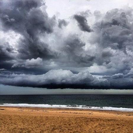 عکس هایی از ابرهای عجیب در سیدنی