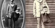 تصاویری از زمانی که بچه ها را پست میکردند!