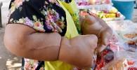 اندام عجیب زن تایلندی!! + عکس