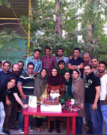 تصویر جشن تولد 34 سالگی لیندا کیانی در مکان زیبا