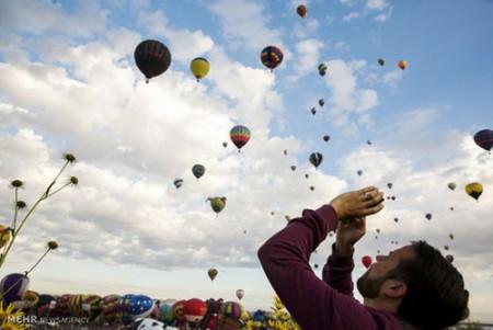 جشنواره بالون ها در آلبوکرکه آمریکا (عکس)