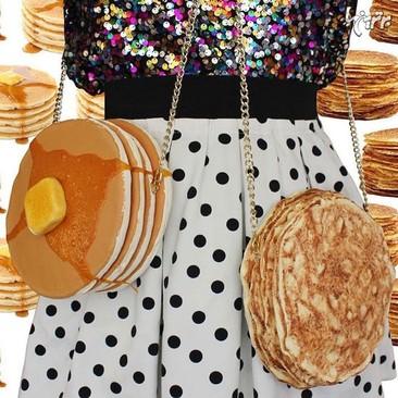تصاویر کیف هایی به شکل خوراکی های خوشمزه