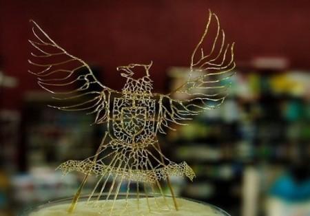 تصاویر مجسمههایی از جنس شیشه