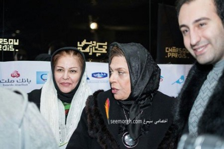 گزارش تصویری از گوهر خیراندیش ، اکرم محمدی و پیمان معادی در اکران کمپ ایکس ری!