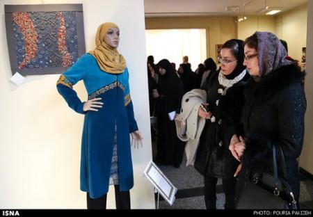 تصاویری از نمایشگاه مد و لباس زنان در همدان