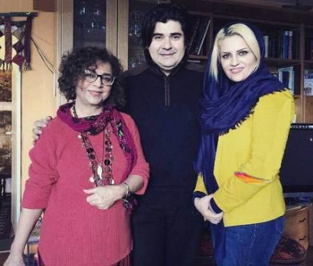 عکس دیده نشده سالار عقیلی و خواننده زن سرشناس ایرانی!