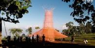 تصاویر برجی که از هوا آب می گیرد!