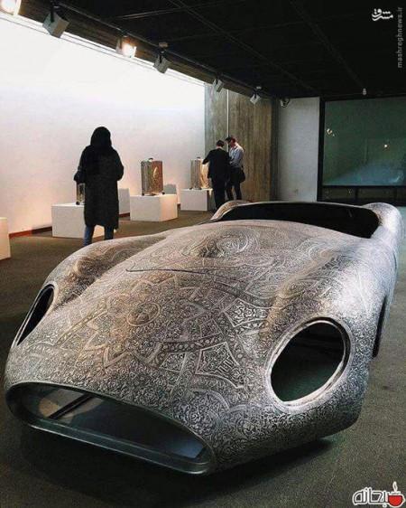 مازراتی منبت کاری شده در تهران (عکس)