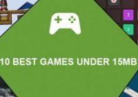 10 بازی کم حجم و جالب برای گوشی های اندروید