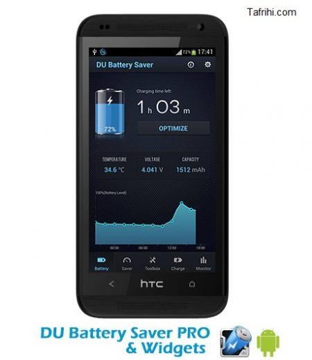 دانلود DU Battery Saver PRO & Widgets 4.3.5 – اپلیکیشن بهینه سازی مصرف و افزایش عمر باتری در اندروید