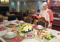 بهنوش بختیاری در خانه اعیانی برنامه شام ایرانی