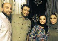 گلاره عباسی درکنار محسن چاوشی و همسرش در جشن تولد پسرشان زانکو