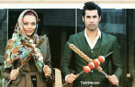 محسن فروزان و همسرش در تبلیغ کسب و کار جدید + عکس