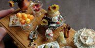 تصاویری از غذاهایی که با سفال درست شدهاند