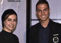 شبنم قلی خانی در کنار بدل ایرانی رونالدو