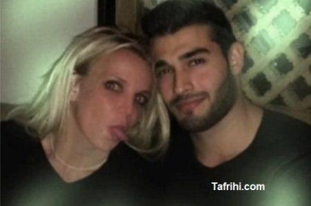 بریتنی اسپیرز در کنار سام اصغری مانکن ایرانی