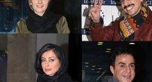 عکس هایی از نفیسه روشن،جواد رضویان ،عموپورنگ و بیتا سحرخیز در اکران فیلم سلام بمبئی