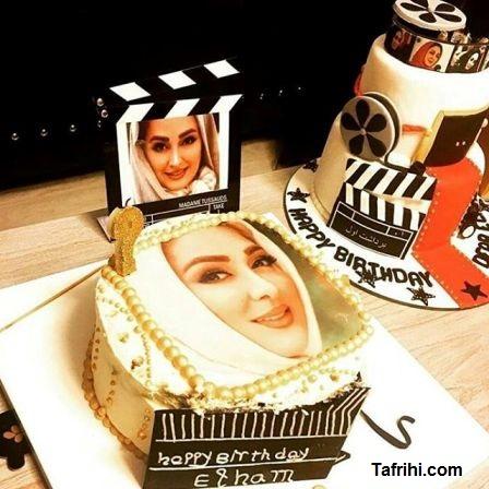 جشن تولد 39 سالگی الهام حمیدی
