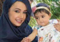 صحبت های شبنم قلی خانی از تجربه مادر شدن و لالایی خواندن