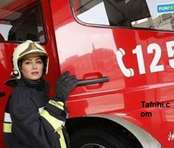 همدردی الهام حمیدی با آتش نشانان با انتشار یک عکس