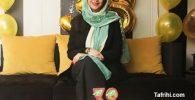عکس از جشن تولد آزاده صمدی