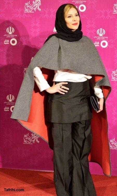 مدل مانتو سحر دولت شاهی در جشنواره فجر