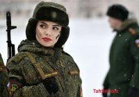 عکس هایی جالب از ارتش زنان روس